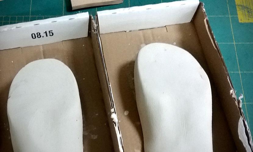 Tukipohjalliset kenkiin mittatilaustyönä